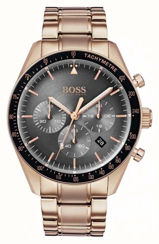 b02915391c10 Hugo Boss Reloj Trofeo Para Hombre Con Cronógrafo Gris