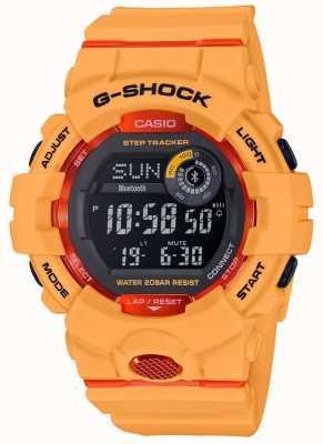 Casio Rastreador de pasos naranja digital bluetooth G-escuadrón GBD-800-4ER