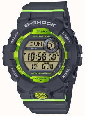 Casio G-Squad gris verde digital bluetooth step tracker GBD-800-8ER