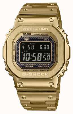 Casio G-shock radio controlado bluetooth solar oro plateado acero GMW-B5000GD-9ER