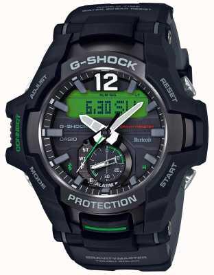 030cb8f3312e Casio G-shock gravitymaster bluetooth solar negro   caucho verde  GR-B100-1A3ER
