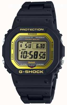 Casio Banda compuesta G-shock bluetooth controlada por radio negro / yel GW-B5600BC-1ER