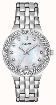 Bulova Reloj de pulsera y colgante de mujer 96X144
