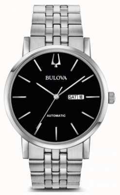 Bulova Reloj automático americano de podadoras para hombres 96C132