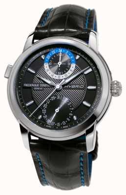 Frederique Constant Fabricación híbrida 3.0 correa automática reloj automático negro FC-750DG4H6