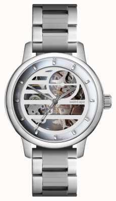 Weird Ape Pulsera Rosalind blanco plata / plata WA02-005833