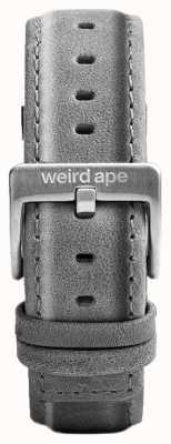 Weird Ape Hebilla gris plata de gamuza 20mm correa hebilla ST01-000016