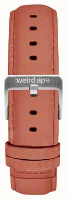 Weird Ape Hebilla de correa de 16 mm rosa rosa gamuza ST01-000052