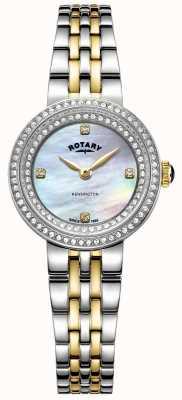 Rotary Señoras kensington | pulsera de acero inoxidable bicolor | LB05371/41