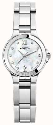 Michel Herbelin Reloj newport royale acero inoxidable para mujer 14298/B89