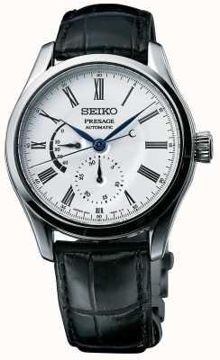 Seiko Presagio automático de esmalte para hombre con dial multi dial. SPB045J1