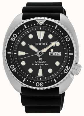 Seiko Reloj de buceo de tortuga automático para hombre Prosx negro SRP777K1