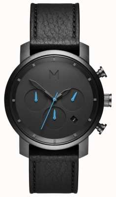 MVMT Mens chrono 40mm negro MC02-GUBL