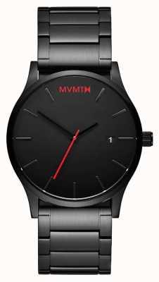 MVMT Enlace clásico negro | pvd negro | esfera negra D-L213.5B.551