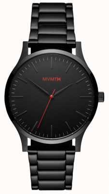 MVMT Enlace para hombre de la serie 40 negra MT01-BL