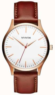 MVMT Mens 40 series bronceado natural MT01-WBR