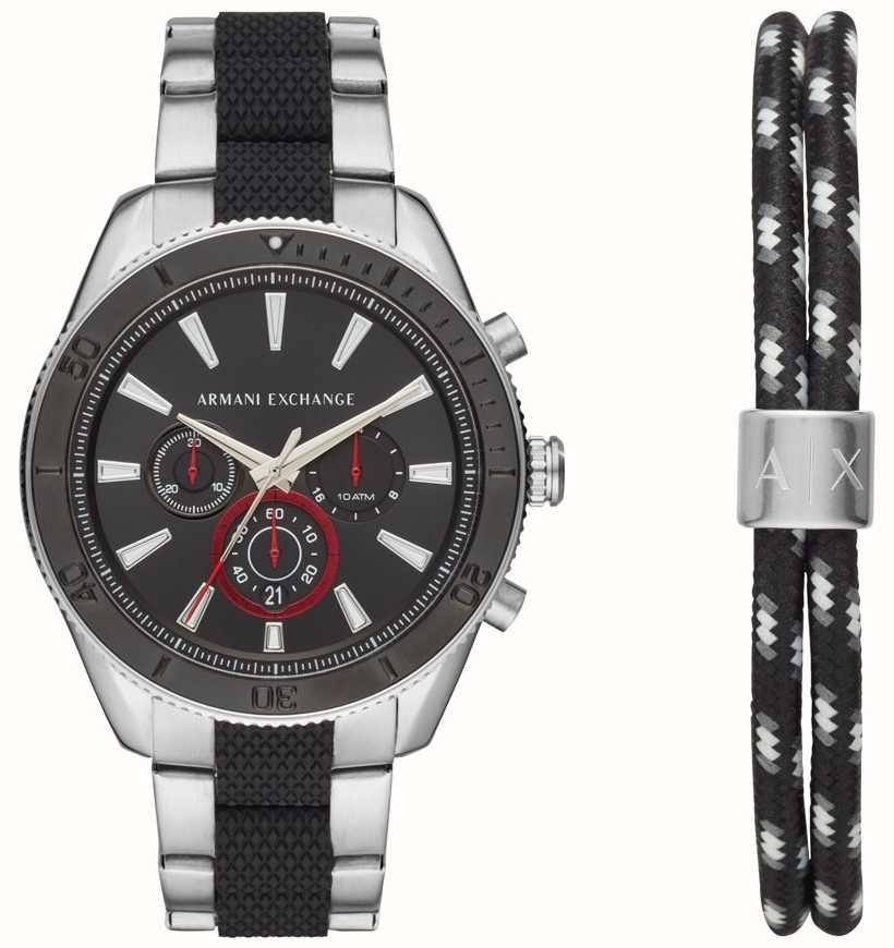 9d58098beb21 Armani Exchange Reloj De Pulsera Para Hombre Enzo Deportivo Con ...