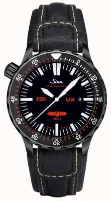 Sinn Ux s gsg 9 pvd leather 5000m resistente al agua 403.062 LEATHER
