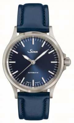 Sinn Correa de cuero azul 556 ib 556.0104 BLUE COWHIDE STRAP