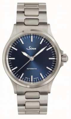 Sinn 556 ib azul Dial pulsera de metal 556.0104 LINK BRACELET
