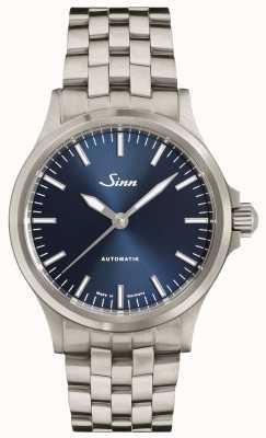 Sinn 556 ib brazalete de enlace fino con esfera azul 556.0104 FINE BRACELET