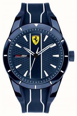 Scuderia Ferrari Hombres redrev azul marcar correa de goma azul 0830541