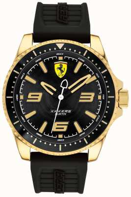 Scuderia Ferrari Hombres xx kers correa de goma chapada en oro 0830485