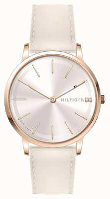 Tommy Hilfiger Dial de oro rosa para mujer pippa 1781936