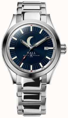 Ball Watch Company Pulsera de acero inoxidable de la indicación de la fase de la luna del ingeniero ii NM2282C-SJ-BE