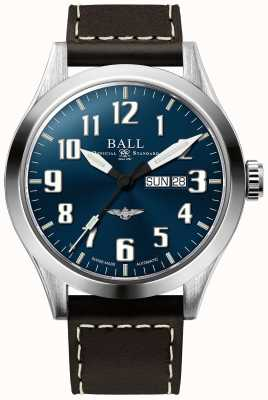 Ball Watch Company Ingeniero iii plata estrella azul esfera día y fecha de visualización NM2180C-L2J-BE