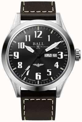 Ball Watch Company Ingeniero iii plateado negro esfera día y fecha de visualización NM2180C-L2J-BK