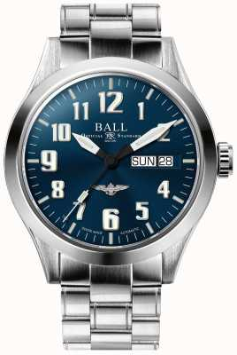 Ball Watch Company Ingeniero iii plata estrella azul esfera de acero inoxidable pulsera NM2182C-S2J-BE