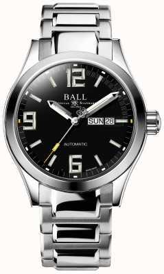 Ball Watch Company Ingeniero iii leyenda marca de día y fecha de marcado negro automático NM2028C-S14A-BKGR