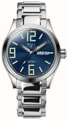 Ball Watch Company Ingeniero ii genesis azul esfera acero inoxidable día y fecha NM2026C-S7J-BE