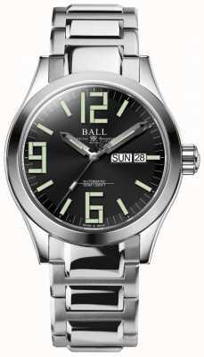 Ball Watch Company Engineer ii genesis esfera negra acero inoxidable día y fecha NM2026C-S7J-BK