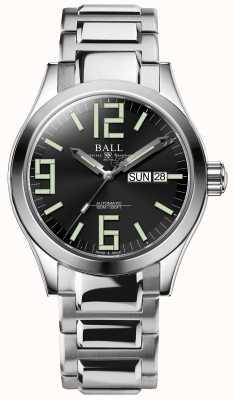 Ball Watch Company Engineer ii genesis esfera negra acero inoxidable día y fecha NM2028C-S7-BK