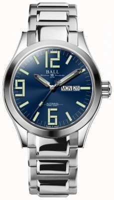 Ball Watch Company Engineer ii genesis esfera azul acero inoxidable día y fecha NM2028C-S7J-BE