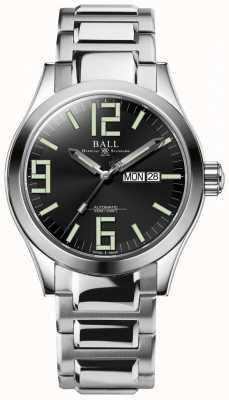 Ball Watch Company Engineer ii genesis esfera negra acero inoxidable día y fecha NM2028C-S7J-BK