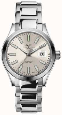 Ball Watch Company Engineer ii marvelight pantalla de fecha de marcado automático champagne NM2026C-S6-SL