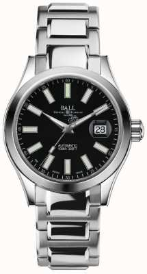 Ball Watch Company Pantalla de fecha de marcación automática negra Engineer ii marvelight NM2026C-S6J-BK