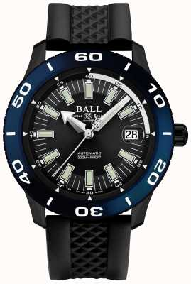 Ball Watch Company Exhibición automática de la fecha del bisel del necc del bombero DM3090A-P5J-BK