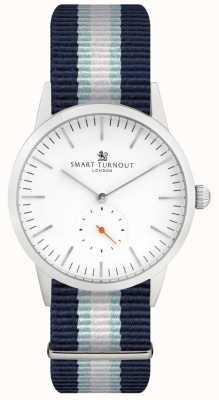 Smart Turnout Reloj Signature - blanco con correa yh STK3/WH/56/W