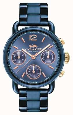 Coach Reloj deportivo para mujer delancy azul 14502842