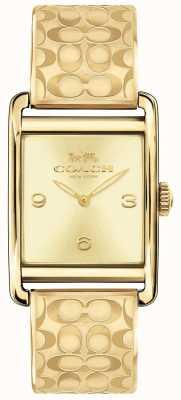Coach Reloj de mujer renwick dorado 14502849
