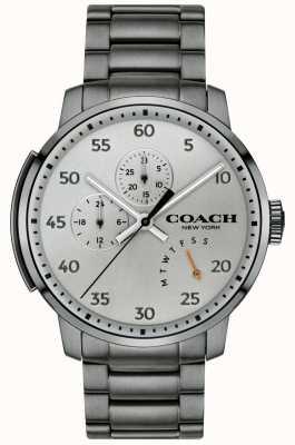 Coach Reloj multifunción para hombre bleecker gris 14602360