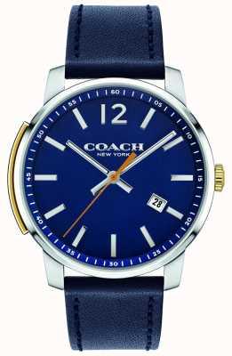 Coach Reloj multifuncional para hombre bleecker azul 14602343