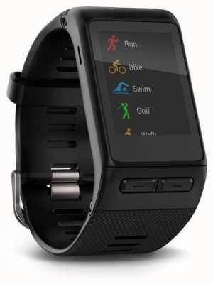 Garmin Vivoactive smartwatch hr negro incorporado en el monitor de frecuencia cardíaca 010-01605-00