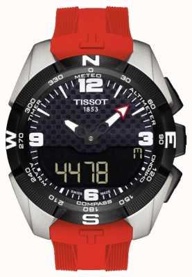 Tissot Cronógrafo de alarma solar de titanio t-touch expert para hombre T0914204705700