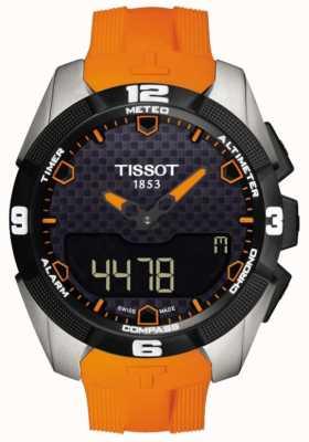 Tissot Cronógrafo con alarma de titanio solar t-touch expert para hombre T0914204705101