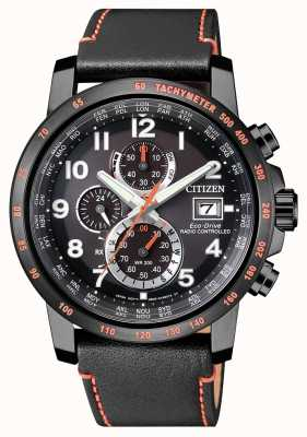 Citizen Reloj de hombre con radiocontrol eco-drive world timer chrono AT8125-05E